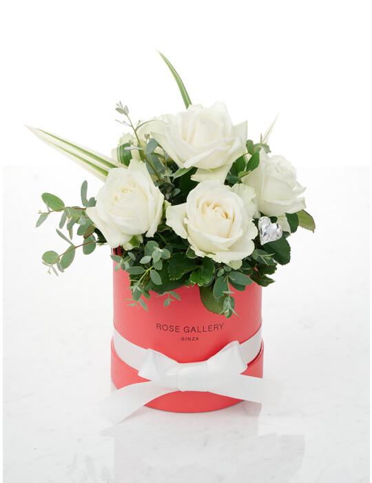 FreshRose(White) cylinder BOX set