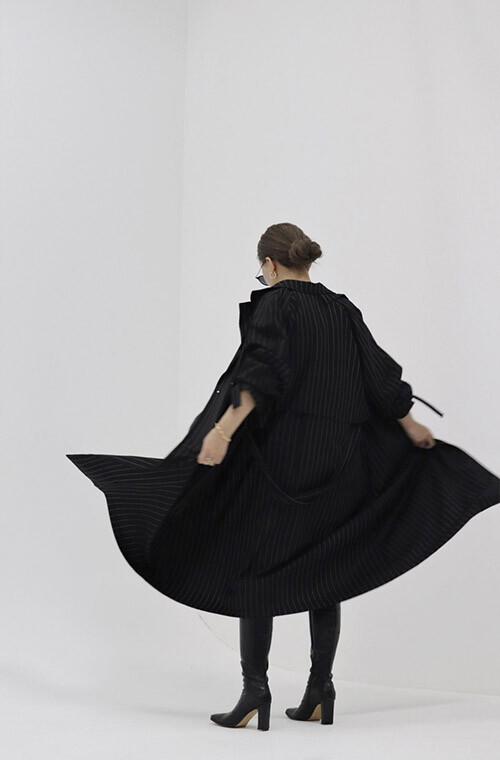 MAVIMOON Trench Coat(BLACK)
