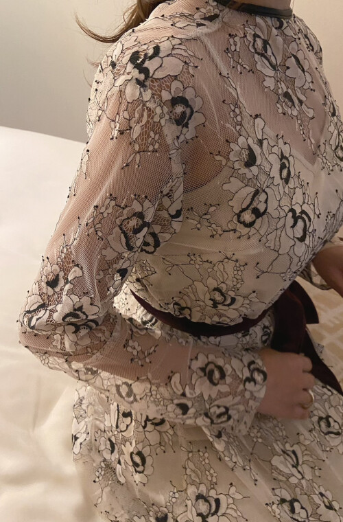 Flower Lace Layering Dress