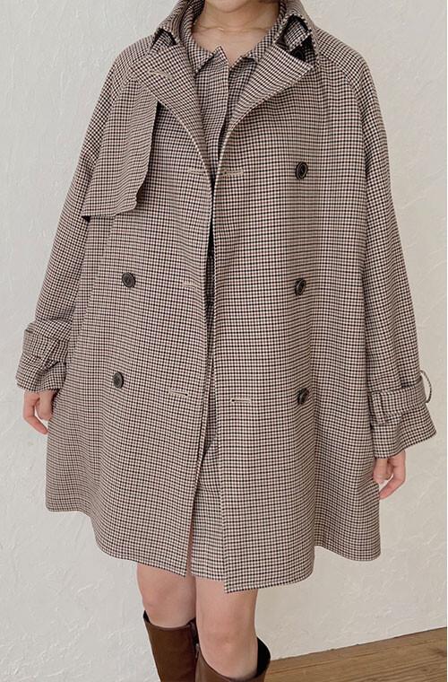 Big Silhouette Classic Coat
